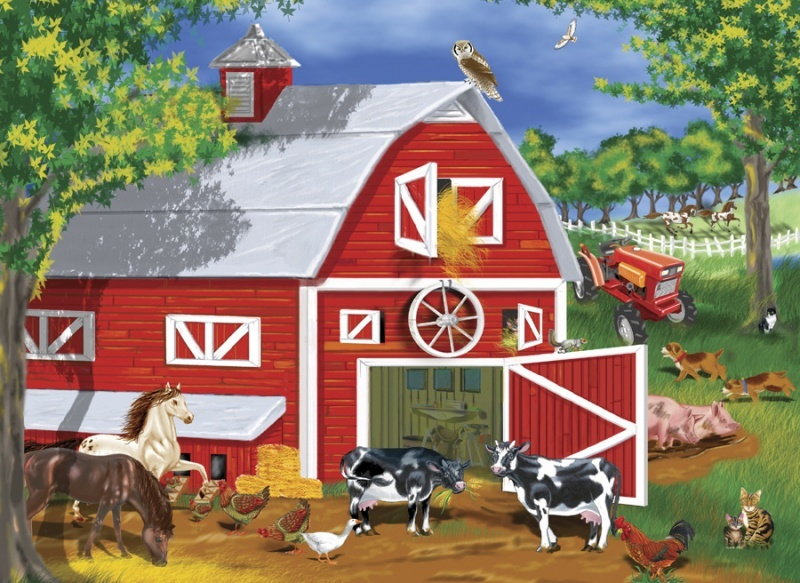 Farm Animals barn