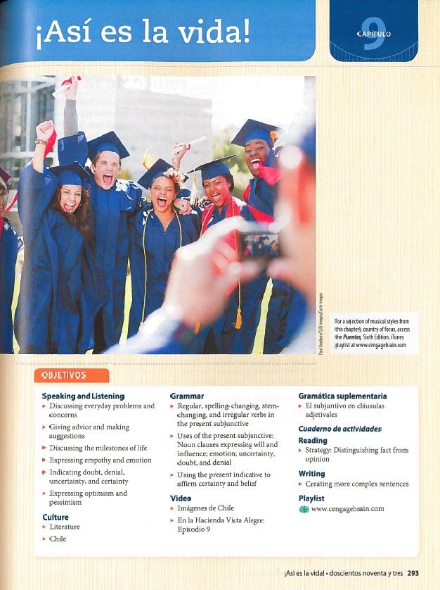 Цели и задачи -- учебник испанского (2014)