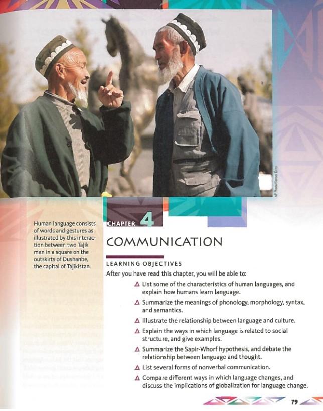 Цели и задачи -- учебник по культурной антропологии (2015)